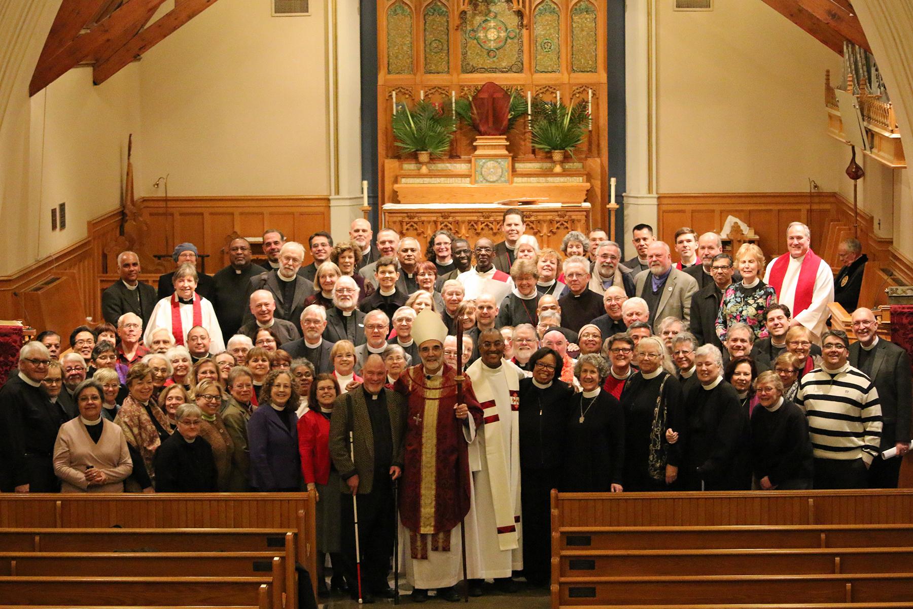 Clergy Group Portrait, March 2015