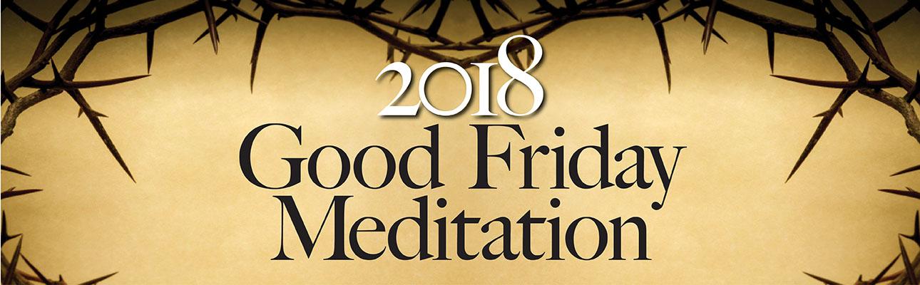 Good Friday Meditation