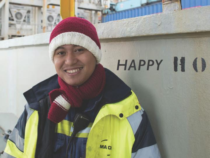 Happy Holidays event at Christmas at Sea