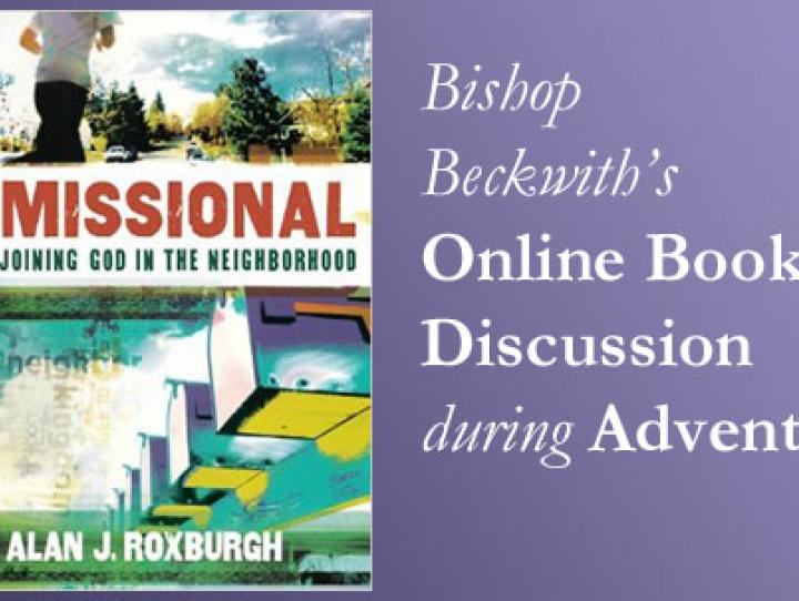 Bishop Beckwith's Online Book Discussion during Advent