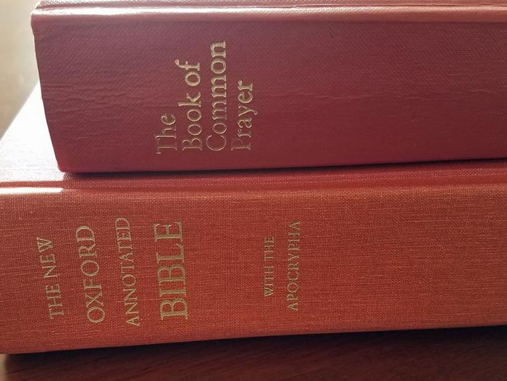 The Bible and The Book of Common Prayer