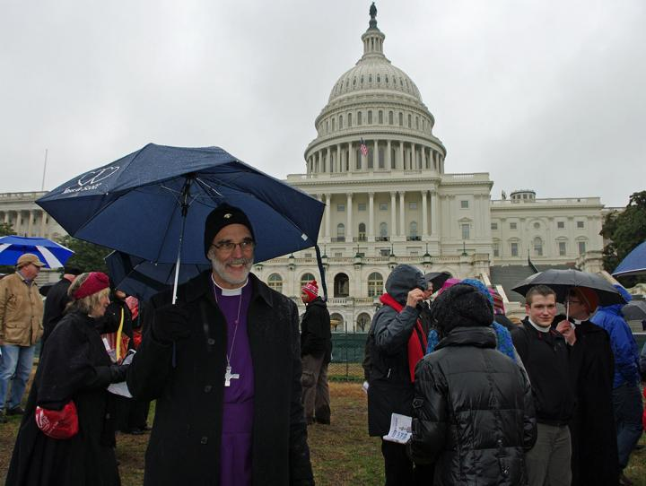 Bishop Beckwith at the U.S. Capitol, March 2013