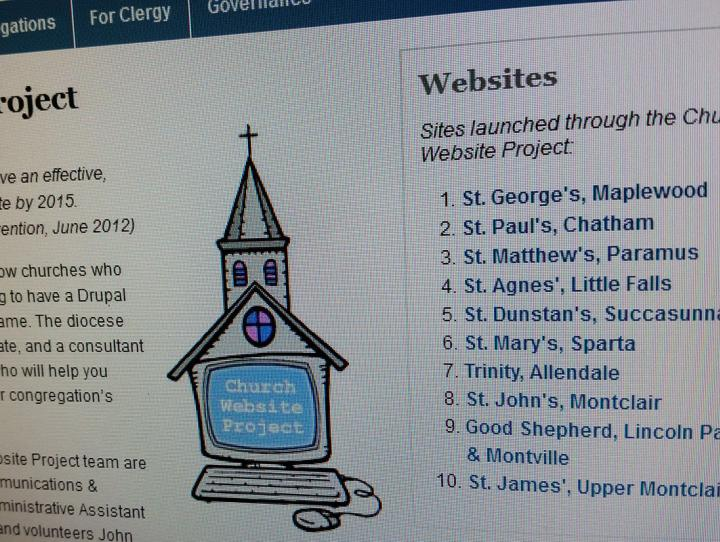 Church Website Project