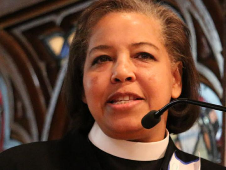 The Rev. Carlye J. Hughes, Bishop-Elect of Newark. NINA NICHOLSON PHOTO