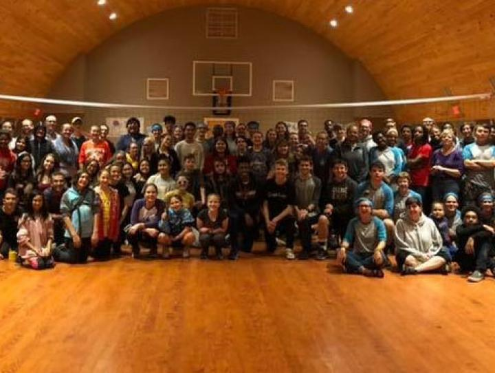 New Jersey and Newark youth rally to raise funds for Cross Roads Camp and Retreat Center, October 6, 2018