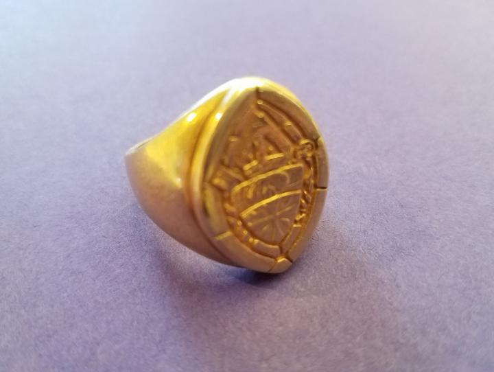Bishop Mark Beckwith's episcopal ring