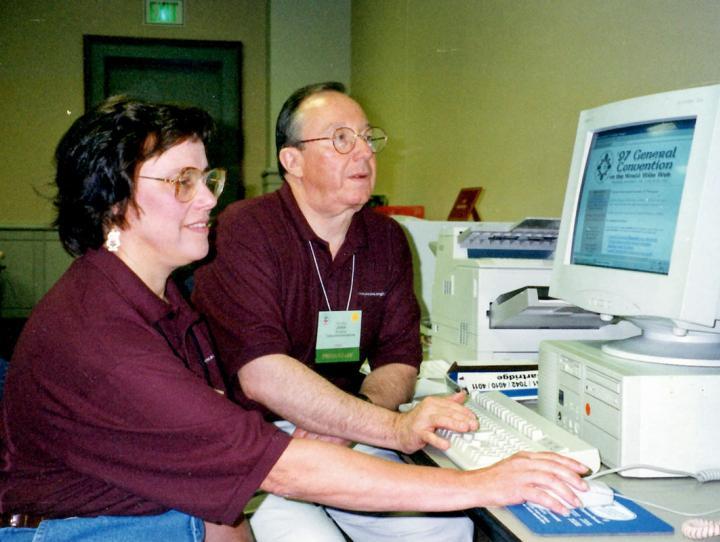 Jan Paxton and John Rollins at GC1997