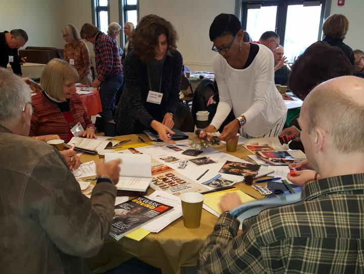 "Members of congregations involved in the ""Going Local"" process"