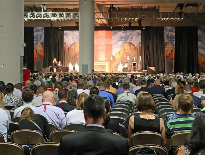 The daily Eucharist at General Convention.