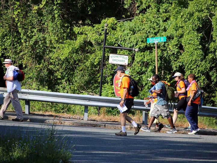 River-to-river pilgrimage across the diocese: Day 1