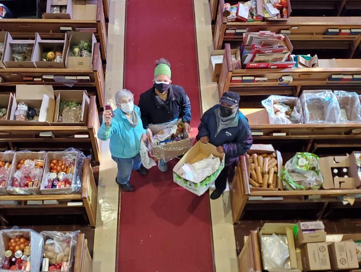 Christ Church, Teaneck food pantry