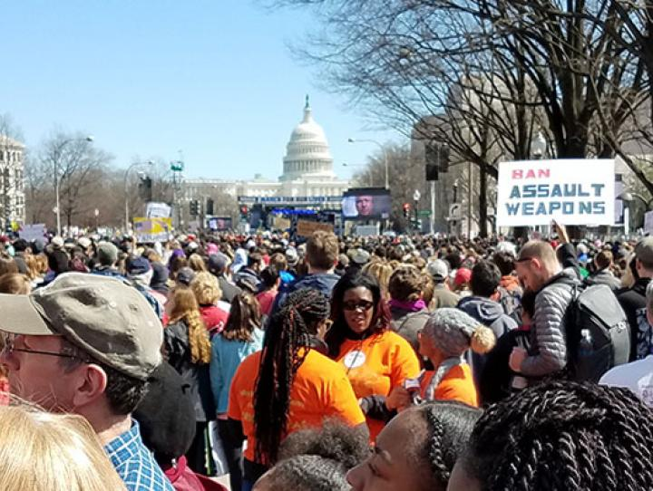 March for Our Lives in Washington, DC. NINA NICHOLSON PHOTO