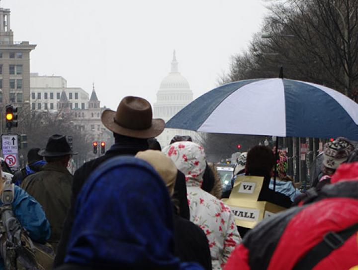 The March 25, 2013 march in Washington, D.C. held in response to the school shooting in Newtown, CT. On March 24, 2018 members of the diocese will join the march in Washington, D.C. held in response to the school shooting in Parkland, FL. NINA NICHOLSON PHOTO