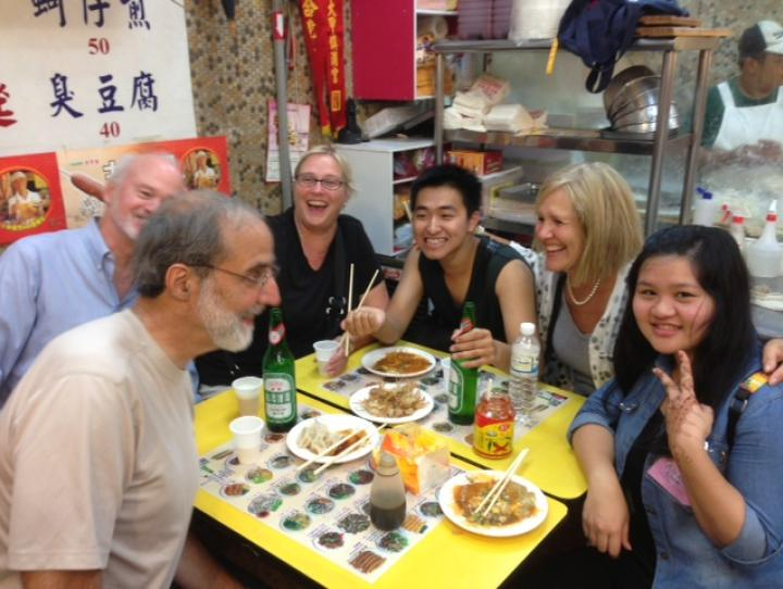 Bishop Beckwith and Marilyn Olson in Taiwan