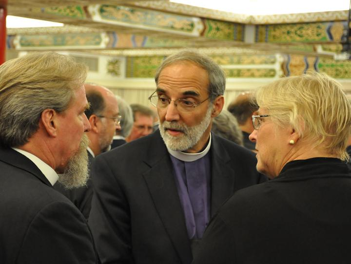 Bishop Mark Hollingsworth (Diocese of Ohio), Bishop Mark Beckwith, Marilyn Olson