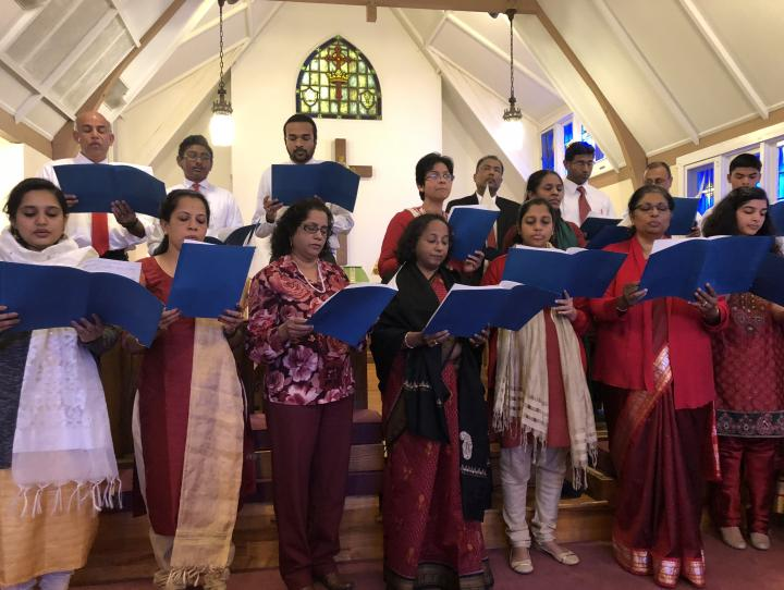 The choir of Church of St. Paul's and Resurrection in Wood-Ridge. CARLYE J. HUGHES PHOTO