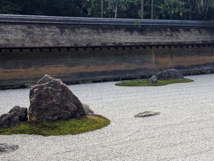 """Ryōan-ji (""""Rock Garden Temple"""")"""