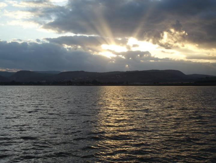 The Sea of Galilee. JON RICHARDSON PHOTO