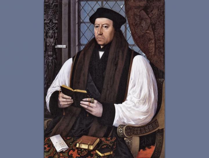 Portrait of Thomas Cranmer by Gerlach Flicke, 1545.