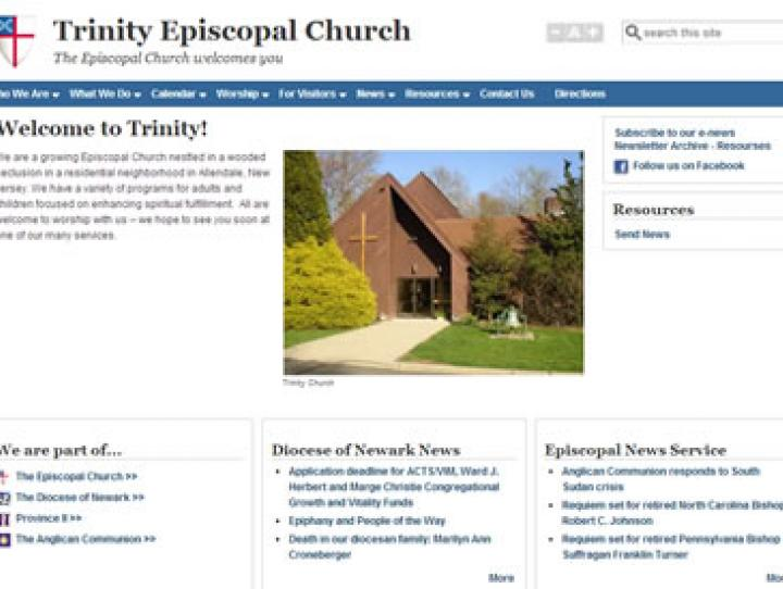 Trinity, Allendale's new website