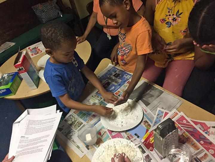 Small Footprints Camp at House of Prayer, Newark