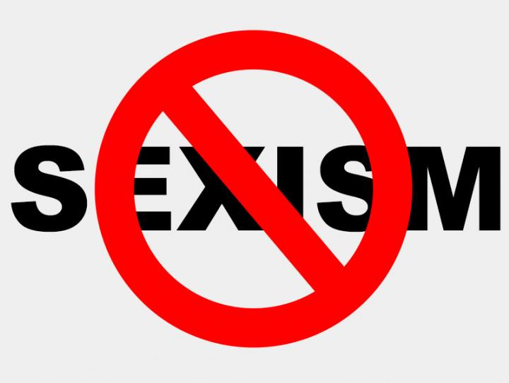 anti-sexism banner
