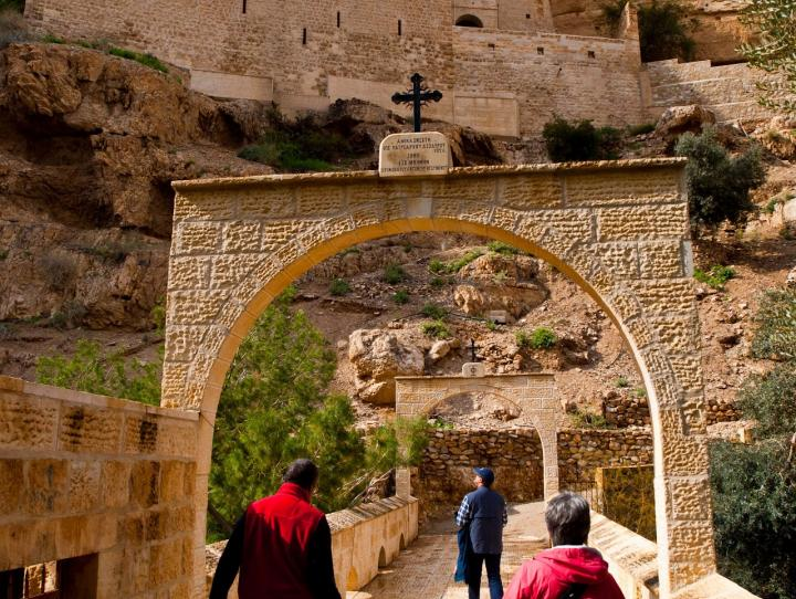 St. George's Monastery in the Judean desert. CYNTHIA BLACK PHOTO