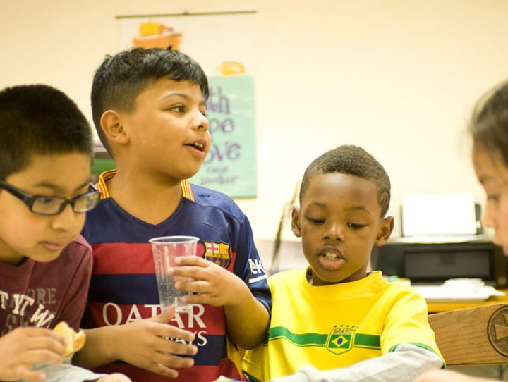 Children at the Success for All after school program in Morristown, a 2016 Alleluia Fund partner. BRUCE PARKER PHOTO