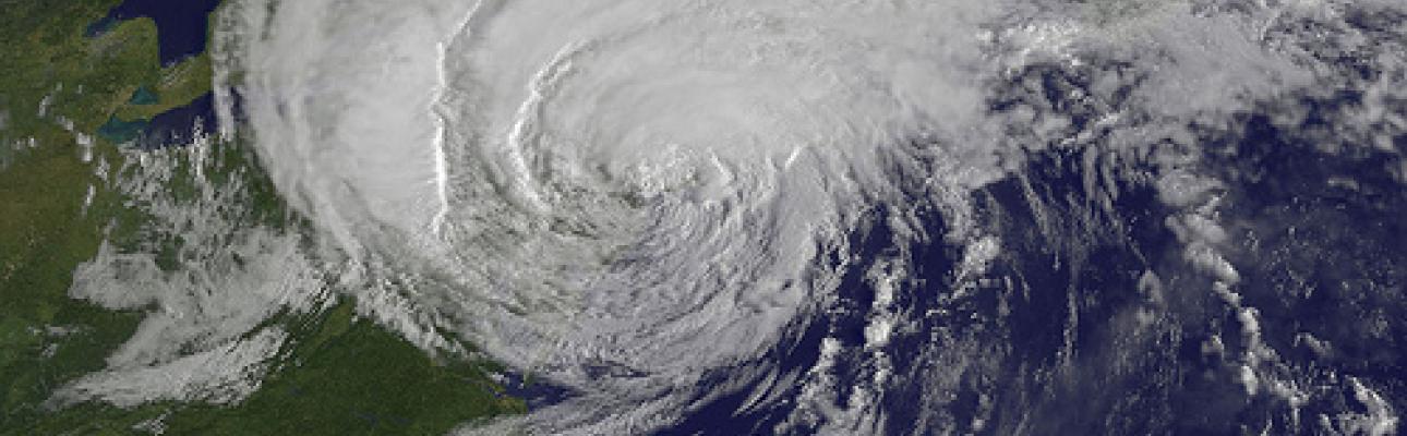 Hurricane Irene reaches NYC. NASA/NOAA GOES Project