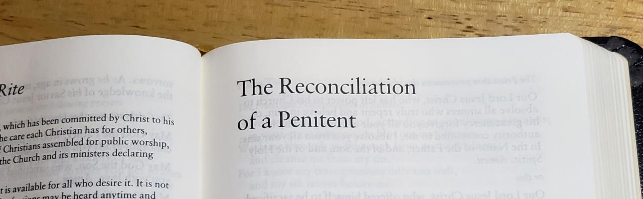 The Reconiliation of a Penitent