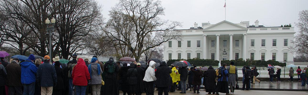 The White House. NINA NICHOLSON PHOTO