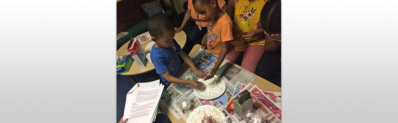 Small Footprints Camp at House of Prayer, Newark
