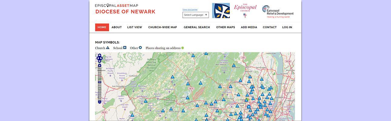 Episcopal Asset Map