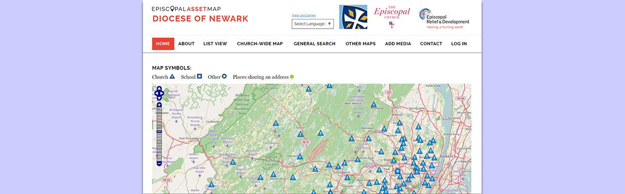 Episcopal Asset Map
