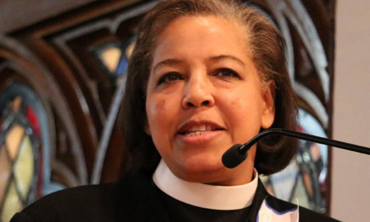 The Rev. Carlye J. Hughes, Bishop-Elect of Newark. NINA NICHOLSON PHOTO
