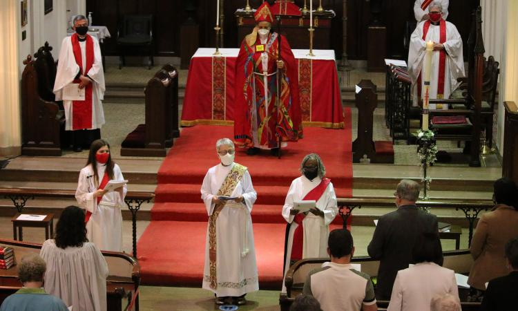 Ordination to the Transitional Diaconate: Carrie Cabush, Katherine Rollo, Lorna Woodham