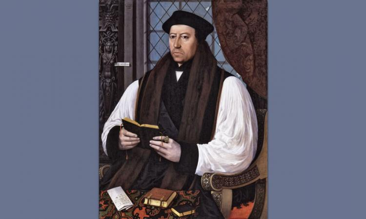 Portrait of Thomas Cranmer by Gerlach Flicke, 1545.
