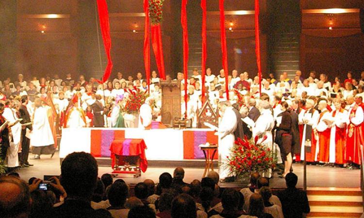 Bishop Beckwith's consecration in NJPAC on January 27, 2007. NINA NICHOLSON PHOTO