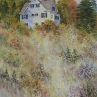 Autumn on the Hill by Connie Halliwell