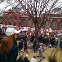 Women's March in Washington. DORIS DICRISTINA PHOTO