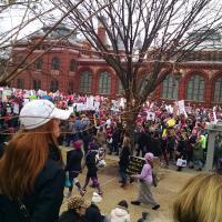 Women's March in Washington. DORIS DICRISTINA PHOTO