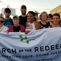 ELIZABETH: Members of Church of the Redeemer, Morrisotwn at the vigil. PHOTO COURTESY REDEEMER, MORRISTOWN