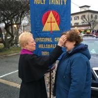 The Rev. Dr. Ronnie Stout-Kopp of Holy Trinity, Hillsdale. PATRICIA BRADLEY PHOTO