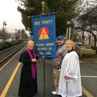 The Rev. Dr. Ronnie Stout-Kopp and team from Holy Trinity, Hillsdale. PATRICIA BRADLEY PHOTO