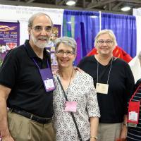 Bishop Mark Beckwith, Colleen Hintz, Marilyn Olson and Pat Yankus