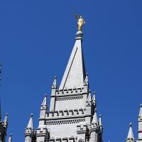 The spires of Salt Lake Temple. NINA NICHOLSON PHOTO