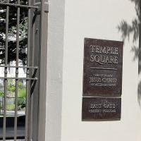 The East Gate of Temple Square. NINA NICHOLSON PHOTO