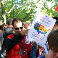 "Episcopalians at Utah Pride ""Decision Day"" Rally."
