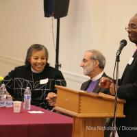 Friday, September 21: Clergy lunch with the Presiding Bishop