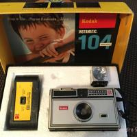 Black took some of her first photographs as a child with an Instamatic camera like this one. SANDRA SCHUBERT PHOTO